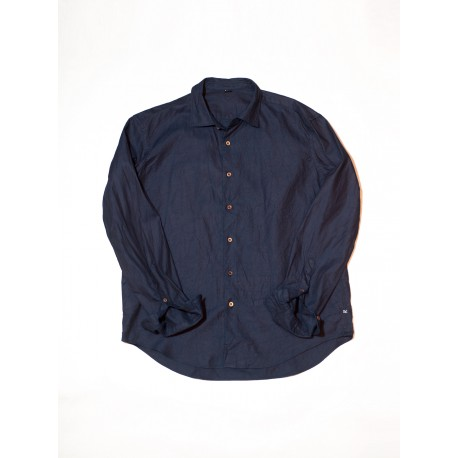Indigo Regular Oxford Shirt