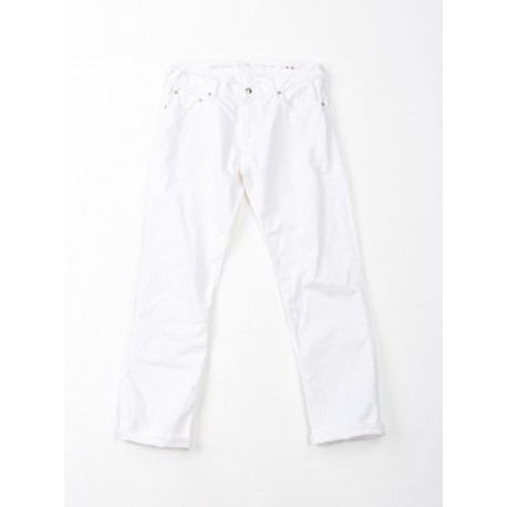 Denim Coin5 Blanc