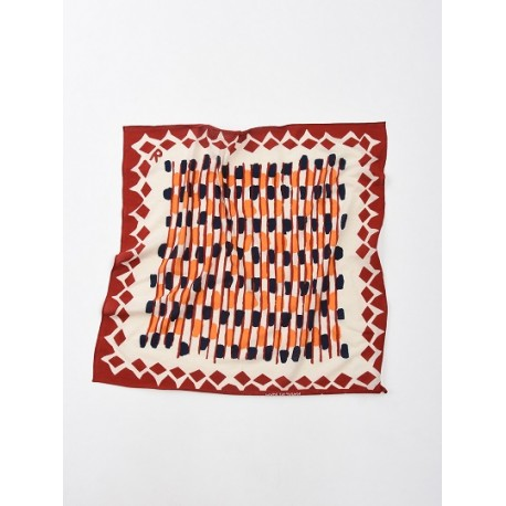 Jersey Cotton Basket Print Bandana
