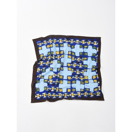 Jersey Cotton Tile Print Bandana