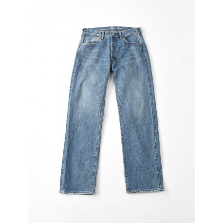 Gunjo Sorahiko Front River Denim Discharged