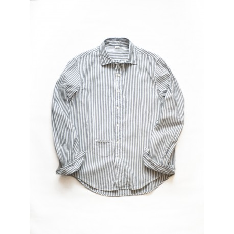 Indigo Thin Oxford Regular Shirt