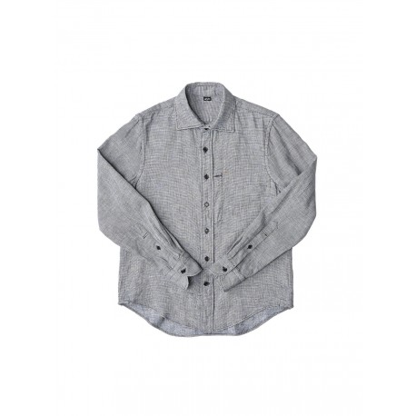 Indigo Double Woven 908 Regular Shirt Unisex