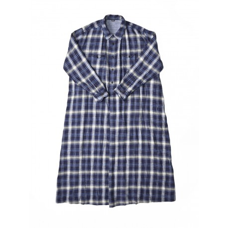 Indigo Twill Double Woven Dress