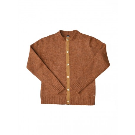 Arles Wool Crew Knit Cardigan