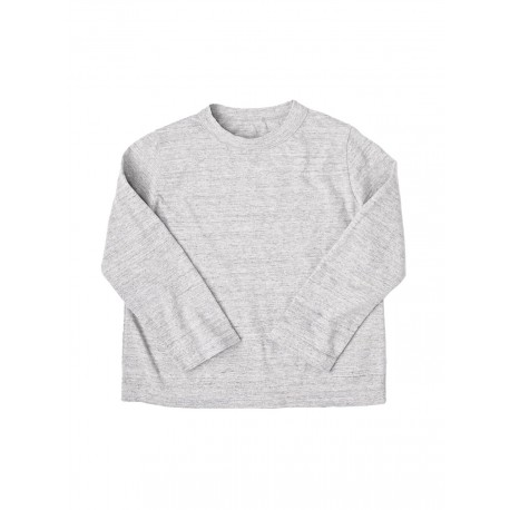 T-shirt Square 3/4 Gris Chiné