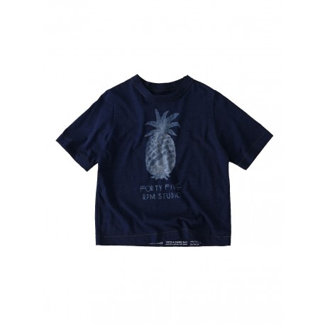 Indigo 45star T-shirt Imprimé Fruits Ananas