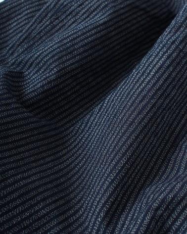 73 - Indigo Stripe