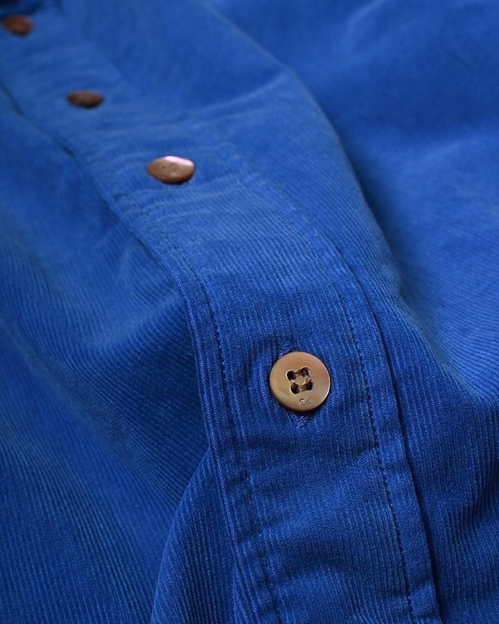 72-blue corduroy