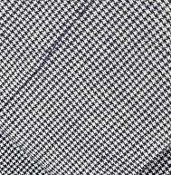27 - Mini Grey houndstooth