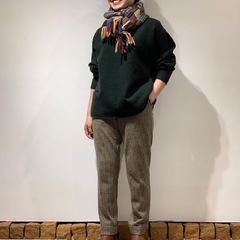 Popular Float wool items are now available in Parisien shops! Take a look the coordinate of 45R staff in Tokyo👀4545 Tsugihagi Muffler Float Wool 908 Mock Neck Uma Sweater Jersey Furano Sweat PantsModel : 156cm Size : Sweater 2-S, Pants 2-M - - - - - #45R #45rparis #45r_tokyo #45R日本橋三越 #fashion #pants #日本橋 #日本橋三越 #8119912 #5098100 #5096109 @45r_official @45r_tokyo
