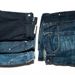 """Nando Nando Denim"", which is deeply woven with indigo yarn for both warp and weft, is lined up in our shops. We improved the way of spinning Zimba cotton, a new 12.2 ounces denim that is light and dry to the touch. Three styles of denim pants : ""Front river"", ""Coin 5"" and ""Charlotte"" are available, with non-wash raw fabric and processed denim with a vintage texture. Raw denim will show the different color and the look of the fabric depending on the care method. In other words, individual personalities appear in denim. Why don't you raise your own special denim ? It is in shop exclusive, so come and have a look !Please take a look our new items at the 45R ONLINE shop (Link in bio) Shipping is free of charge for EU 🚛📷 @benlorph#45R #45RPM #jeans #indigo #cotton #madeinjapan #45r_official #fashion #45rparis #paris #tokyo #japan #france #lemarais #sainthonore #saintgermain #organiccotton #japanesebrand #藍染 #夏コーデ #indigodye #japanesehandcraft #denimlovers #AW20"