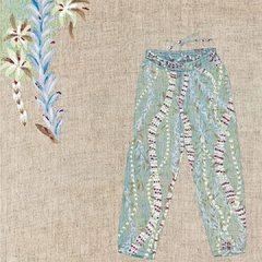 Tencel Lei Lei Aloha Easy Pants#45r_official #45rparis #45rpm #madeinjapan #summervibes #SU21 #aloha #painting