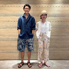 Feel fresh and comfy!#45ROCEANSTUDIOPlease take a look our new items on 45r.fr (Link in bio)@45r_tokyo @45r_official #45r_official #45rparis #45rpm #madeinjapan #summervibes #SU21 #aloha
