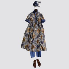 Batik Print - Yasuminate 💙@45r_official #45r_official #45rpm #45rparis #japanesebrand #madeinjapan #paris #tokyo #indigo #ootd print #indonesia #summercollection